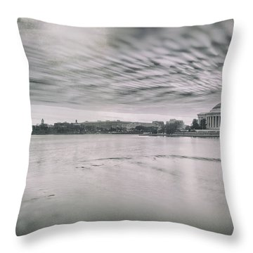 Throw Pillow featuring the photograph The Trump State by Edward Kreis