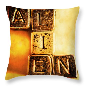 The Truth Abduction Throw Pillow