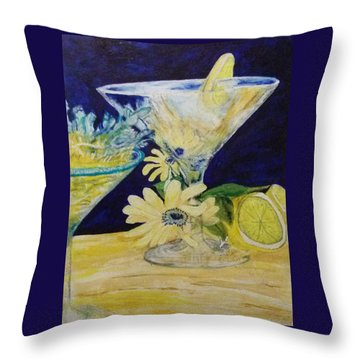 The Truth In The Drink Throw Pillow