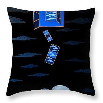 The Truth Is We Don't Know The Truth Throw Pillow