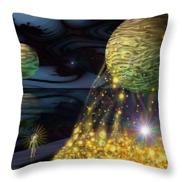 The Tutelary Guardian Throw Pillow