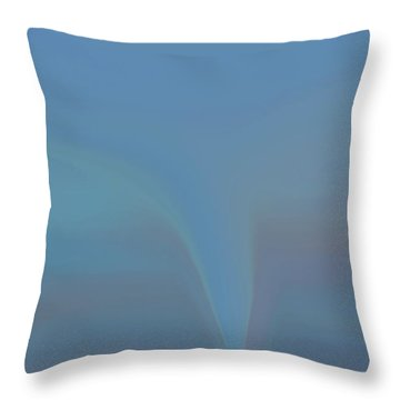Throw Pillow featuring the painting The Twister by Dan Sproul