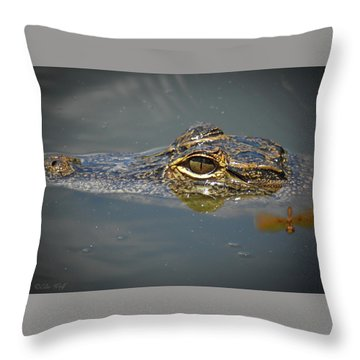The Two Dragons Throw Pillow