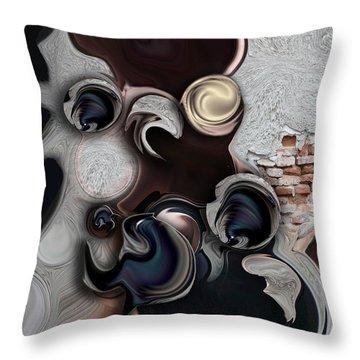 The Unconscious Reality Throw Pillow