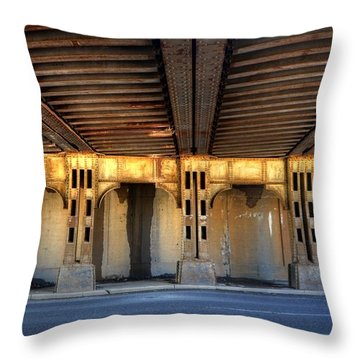The Under Pass Throw Pillow