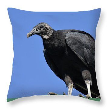 The Undertaker Throw Pillow