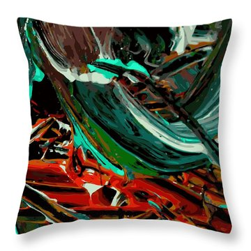 The Underworld Throw Pillow