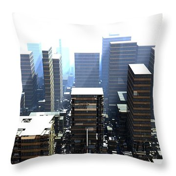 The Unimaginative Architect Throw Pillow
