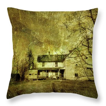 The Uninvited Throw Pillow
