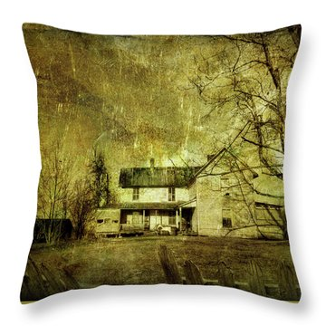 The Uninvited Throw Pillow by Mark Allen