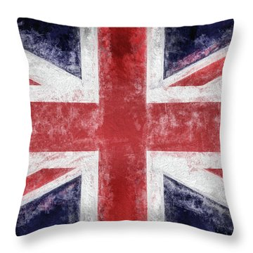 The Union Jack Throw Pillow