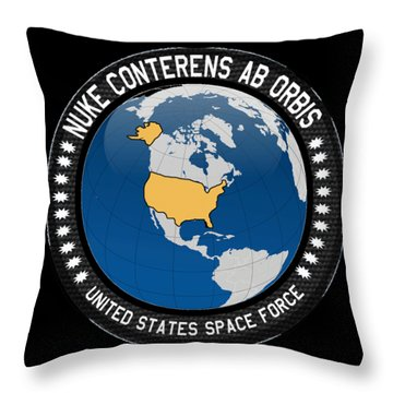 The United States Space Force Throw Pillow