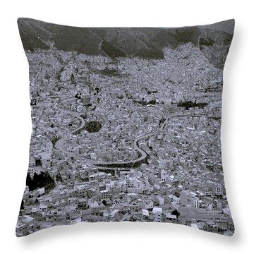 The Urban City Throw Pillow by Shaun Higson