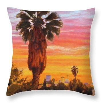 The Urban Jungle Throw Pillow by Andrew Danielsen