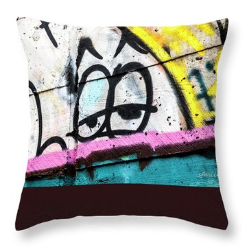 Throw Pillow featuring the photograph The Urban Vision by Steven Milner