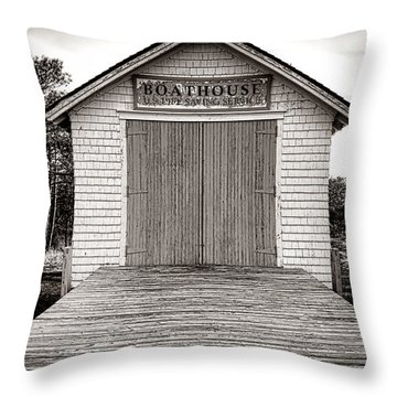 Wood Siding Throw Pillows