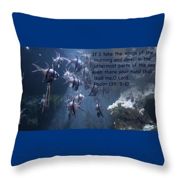 the Uterrmost Parts Of The Sea Throw Pillow