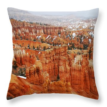 The Valley Of Hoodoos Throw Pillow by Scott Cameron