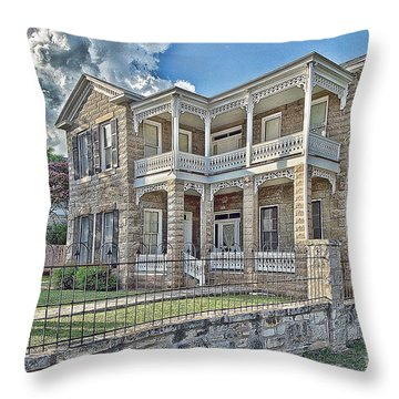 Van Der Stuken House Throw Pillow