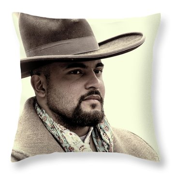 The Vaquero Throw Pillow