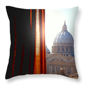 The Vatican Throw Pillow by Valentino Visentini