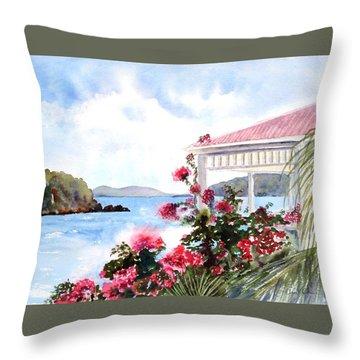 The Veranda Throw Pillow