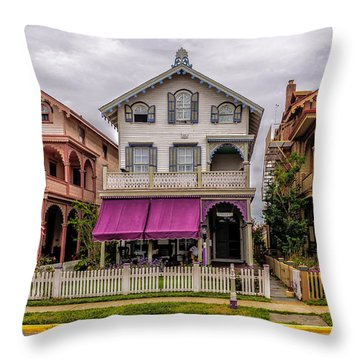 The Victorian Style  Throw Pillow