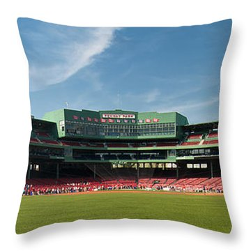 The View From Center Throw Pillow