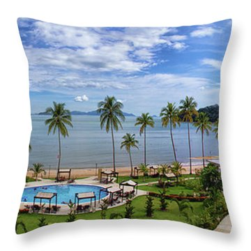 The View From Room 566 Throw Pillow