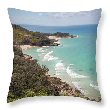 The View From The Cape Throw Pillow