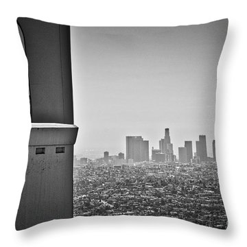 The View From The Observatory Throw Pillow