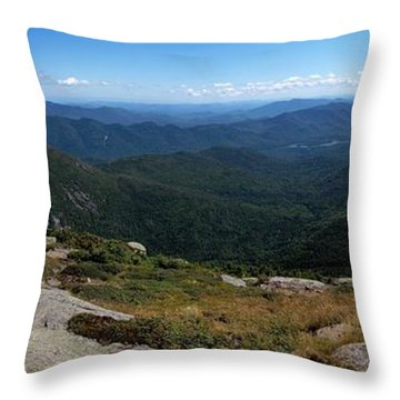 The View South From Mt. Marcy Throw Pillow