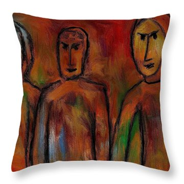 The Village People Throw Pillow by Rafi Talby