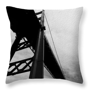 The Vincent Thomas Throw Pillow