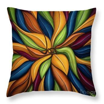 The Vine Throw Pillow
