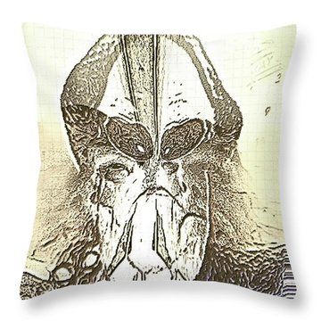 The Visionary Throw Pillow