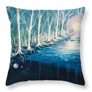 The Vortex Throw Pillow