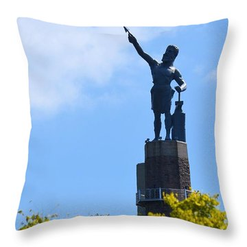 The Vulcan Throw Pillow