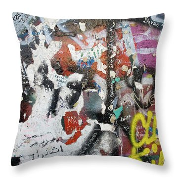 The Wall #11 Throw Pillow