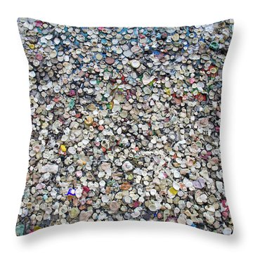 The Wall #12 Throw Pillow