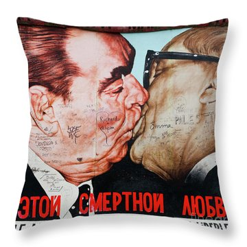 The Wall 53 Throw Pillow