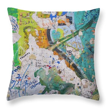 The Wall #8 Throw Pillow