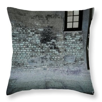 Throw Pillow featuring the photograph The Wall by Douglas Stucky