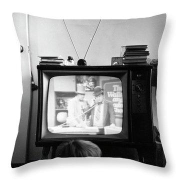 Phoenix Television Circa 1971 Throw Pillow