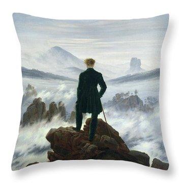 Mountains Throw Pillows
