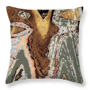 The Wanderers Throw Pillow