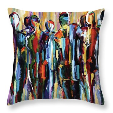 The Wanderers, Good People Series, Pure Justus Throw Pillow