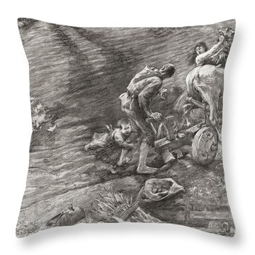 The Wandering Jew. Legend Tells Of A Throw Pillow