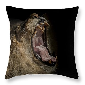 The War Cry Throw Pillow