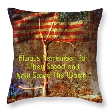 The Watch Throw Pillow
